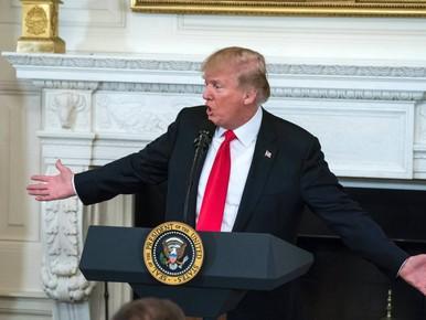 'Fake-nominatie Trump voor vredesprijs'