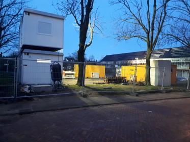 Bouwplaats Beverwijk leeggeroofd: 'Nagenoeg al het elektrisch gereedschap weg'