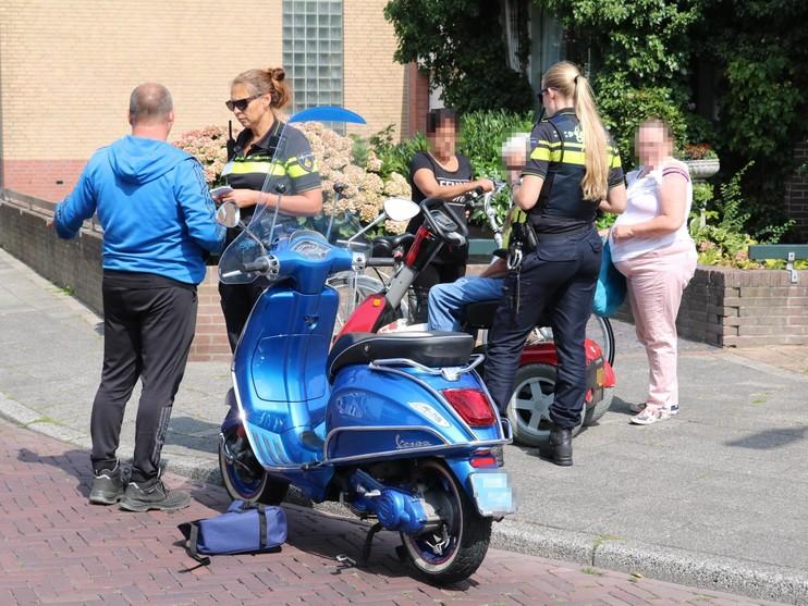 Voetgangster gewond door aanrijding met scootmobiel in Rijnsburg
