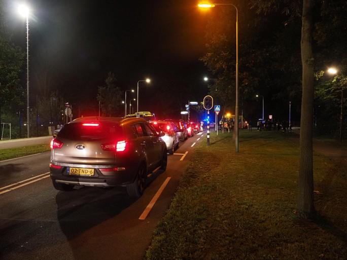 Scooterrijdster gewond bij ongeluk in Driehuis