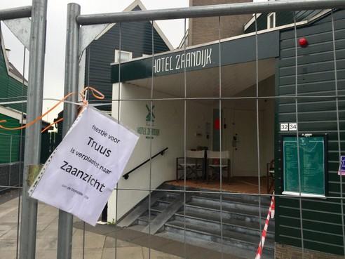 Aanslaghotel Zaandijk blijft nog drie maanden dicht