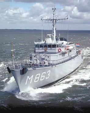 Vlaardingen ruimt mijnen op in Noordzee [video]