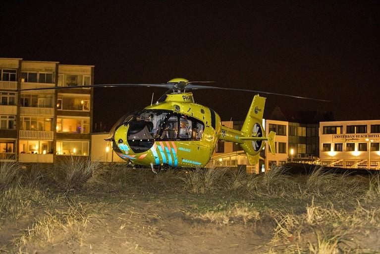 Vrouw gewond na val van flat in Zandvoort
