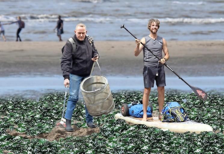 Zwerfinator en Plastic Soup Surfer gaan strijd aan met knetterballen: Kamer wil onderzoek naar plastic in vuurwerk