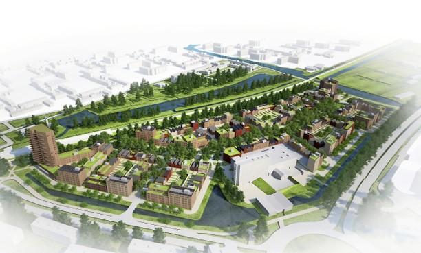 Plan Oostzijderpark Zaandam heel dicht bij lawaai van de brandweer