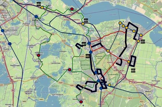 Vrees voor schrappen buslijnen in Gooi en Vechtstreek
