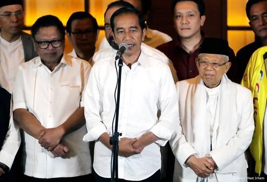 President Widodo: ik heb verkiezing gewonnen