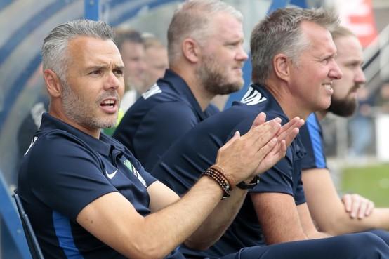 Willem Romp geniet bij Eemdijk: 'In de selectie zit veel humor en de jongens willen heel graag. Soms een beetje té'