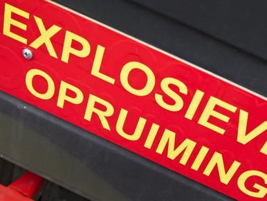 Explosieven gevonden bij Duin- en Kruidbergerweg