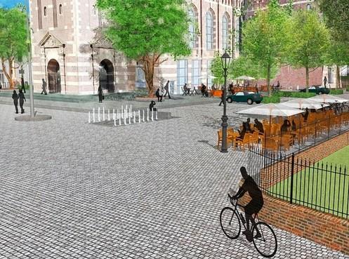 Hoorns college zal niet sleutelen aan plannen voor het Kerkplein