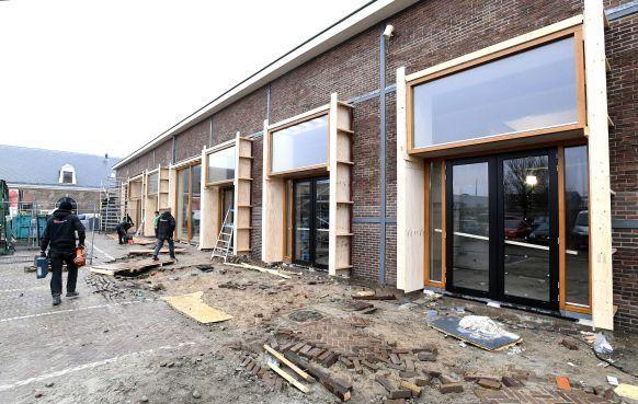Glazen gevels voor nieuwe horeca op Willemsoord [video]