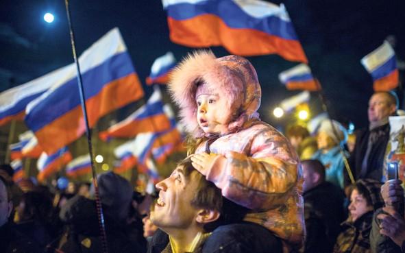 De Krim is alweer vijf jaar Russisch