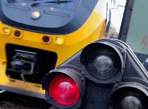Treinen rijden weer tussen Leiden en Schiphol na een wisselstoring