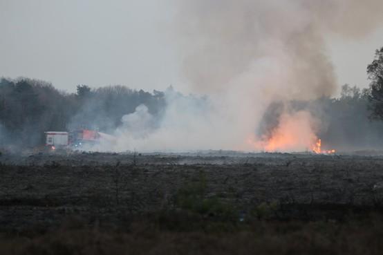 Brand Laapersheide: 'Overslaan op bos gelukkig voorkomen'