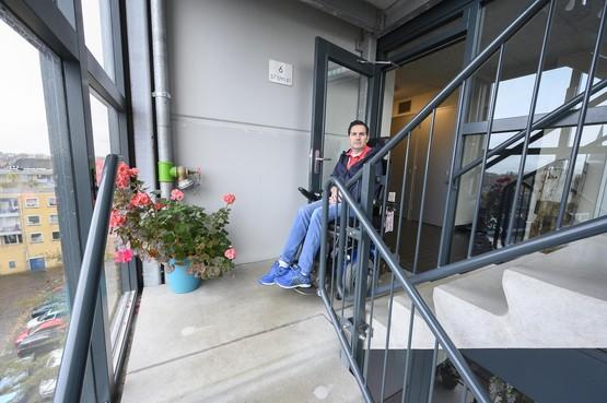 Bewoner zit zes dagen opgesloten in appartement in Zaandam