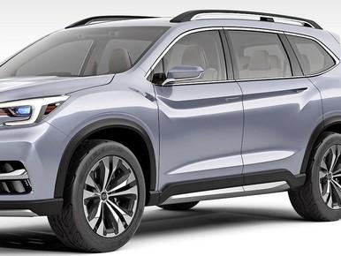 Nieuwe Subaru's op zelfde basis