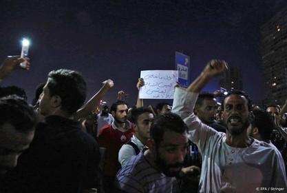 Weer betoging tegen president Egypte