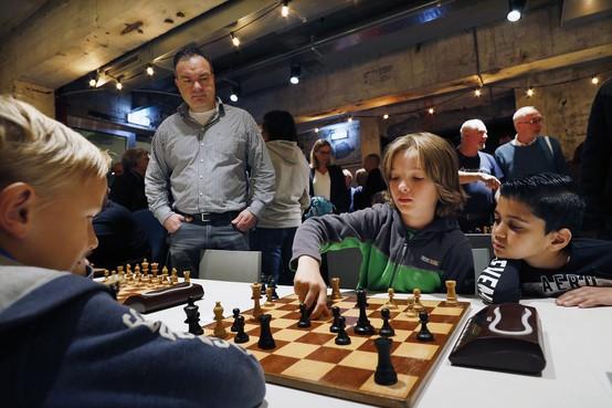 Mooi schaakfeestje in De Krachtcentrale in Huizen