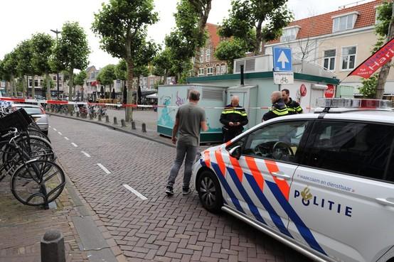 Vinder van handgranaat op Haarlemse Botermarkt heeft geen idee wie verantwoordelijk is: 'Er staat geen afzender op, hè'