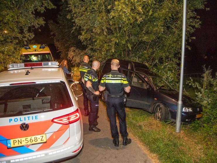 Man raakt gewond bij eenzijdig ongeval in Velserbroek