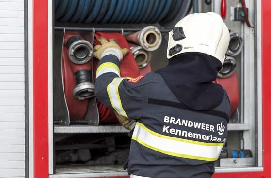 Lessen gaan door ondanks brand bij Kennemer College Beverwijk