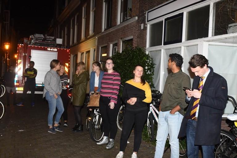 Studentenhuis ontruimd in Leiden door gaslek