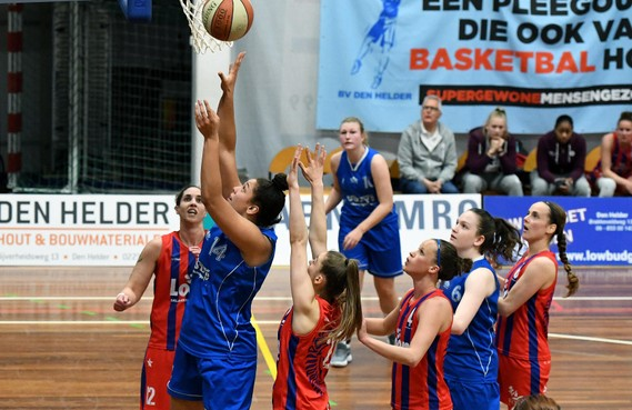 Zoë Slagter blijft basketballen bij bv Den Helder en Nino Gorissen komt naar de Suns
