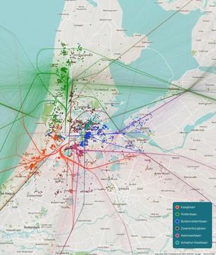 Klachtenregen Schiphol uit Haarlemmermeer