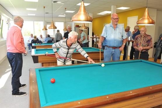 Nieuwe biljartzaal voor Beverwijkse senioren