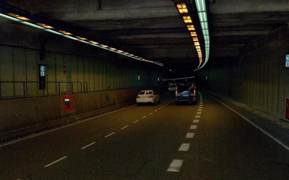 IJtunnel Amsterdam weer open na brand