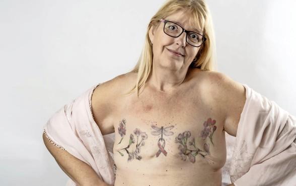 Geen borsten meer, maar een tatoeage: 'Ik zie geen littekens, maar schoonheid'