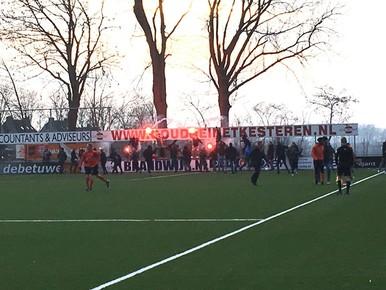 Katwijk wint echt op het nippertje van FC Lienden