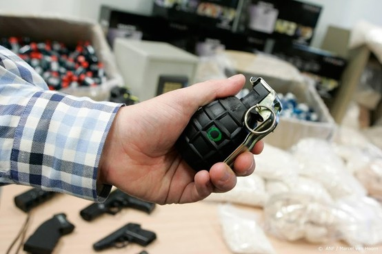 Straf bezit en gebruik handgranaten verdubbeld