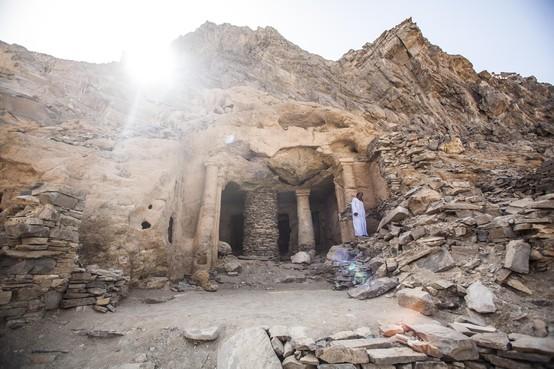 Uitersten komen samen in Wadi el Gemal