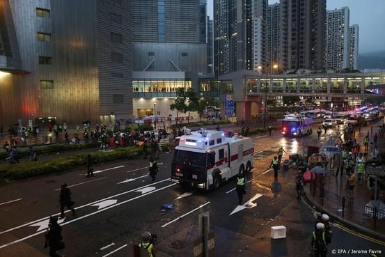 Weer rellen in Hongkong
