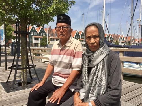 Kinderen geëxecuteerden wachten in haven Volendam op 'gerechtigheid'