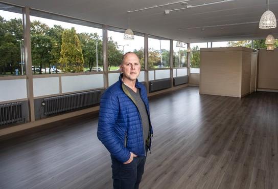 Vechtsporter Ben Rietdijk herpakt zich met nieuwe fitnesszaal in oude NS-stationsgebouw Santpoort-Noord