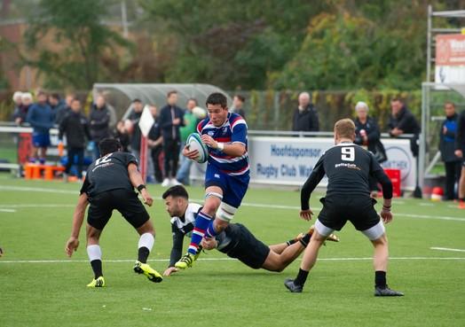 Snelle achterstand rugbyers Waterland funest tegen Oemoemenoe