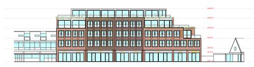 Vijfentwintig appartementen en winkelruimte op plek van outletzaak Prijsmepper in Heemskerk