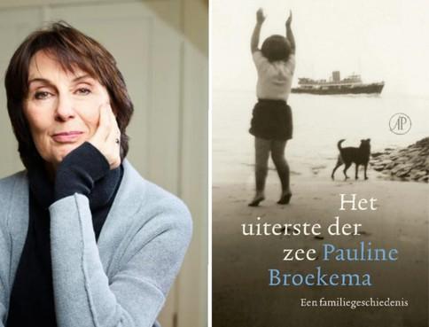Pauline Broekema vertelt bij Boekhandel Blokker over Het uiterste der zee