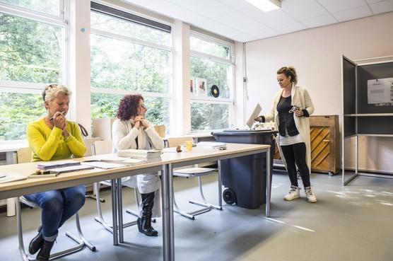 Europawijk Haarlem beleeft lange en stille Europese verkiezingsdag