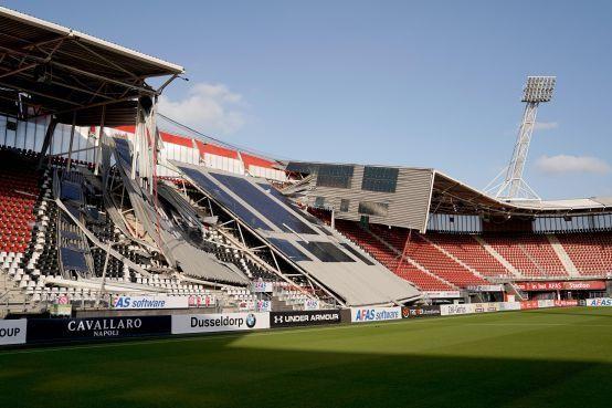 Brand- en bouwexpert: 'Kans was groter dat dak stadion instortte tijdens wedstrijd'