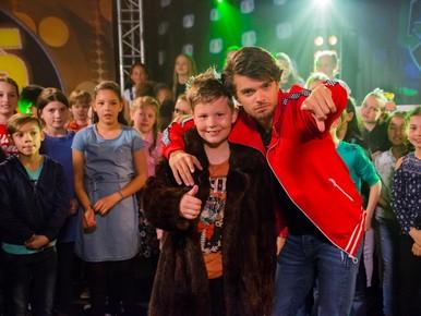 Noah met Buddy Vedder van Zapp-Kids