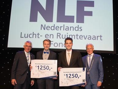 Stagiairs Airbus Leiden winnen prijs