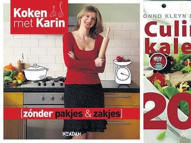 Kookboeken van culinair trio