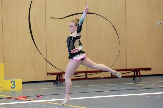 Goed NK voor de ritmische gymnasten van GTVH