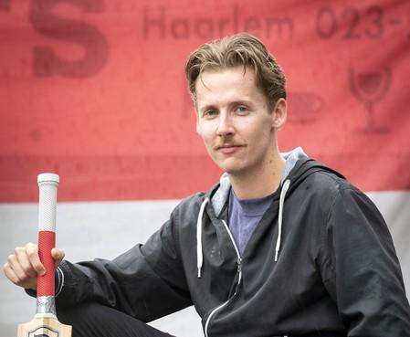 Cricketbolwerken Rood en Wit en Bloemendaal spelen om Haarlems Dagblad-beker