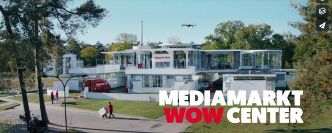 Zonnestraal als 't wow-center van Mediamarkt [video]