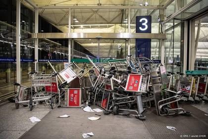 Hongkong verbiedt demonstraties op vliegveld