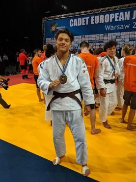 Judoka Christiaan Hendriksen 'blij en teleurgesteld'